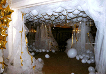 Balloon Wedding Arch